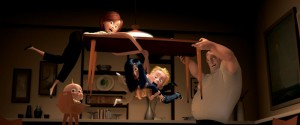 Kitchen fight scene from The Incredibles