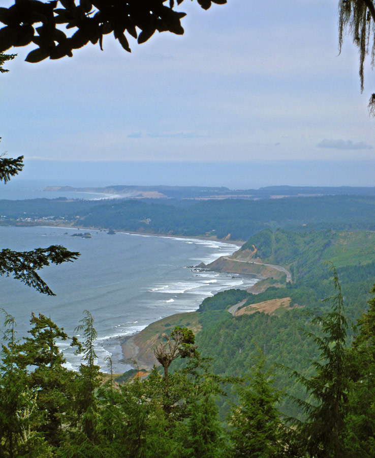 Port Orford from Humbug Mountain