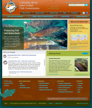 Columbia River Inter-Tribal Fish Commission website