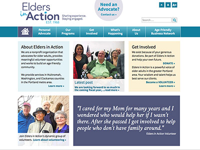 Elders in Action Website