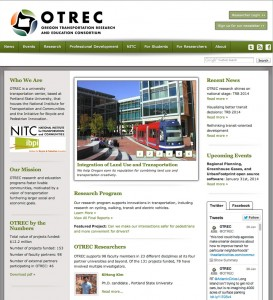 OTREC home page