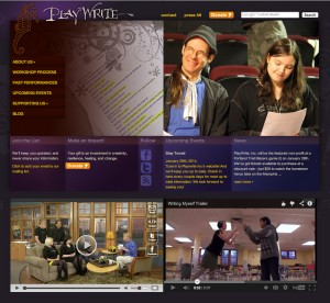 PlayWrite, Inc home page