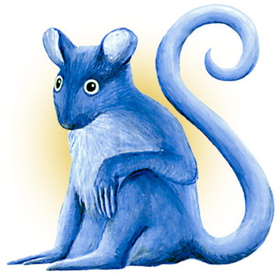 Blue Mouse Monkey
